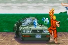 Street fighter 2 car stage