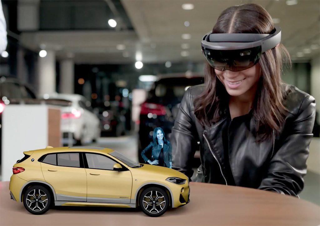 HoloLens Microsoft BMW