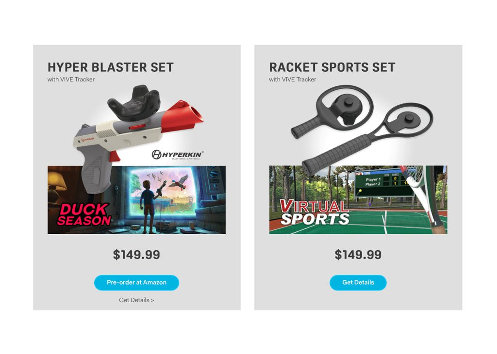 Vive Tracker Hyper Blaster