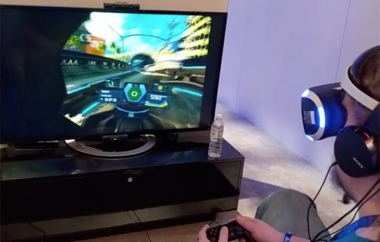WipEout Omega Collection VR