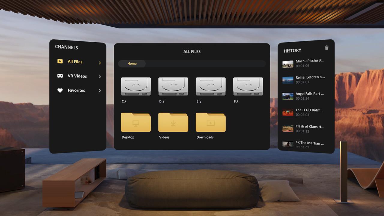Skybox VR Player: Videoplayer mit Streamingfunktion - VR∙Nerds
