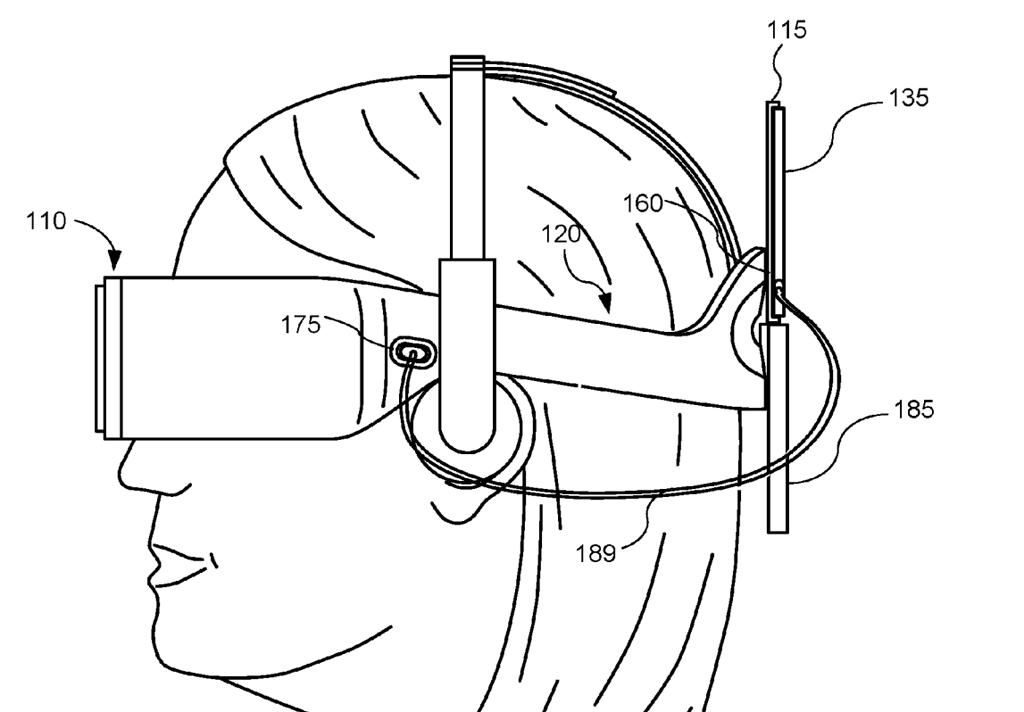 Oculus Patent VR Smartphone