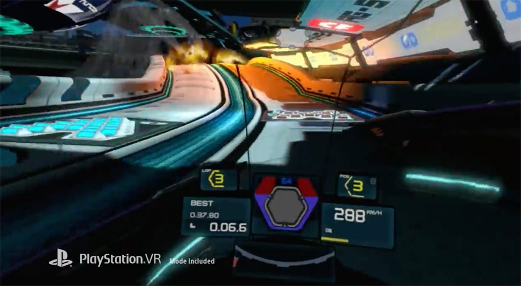 WipEout PSVR PlayStation VR