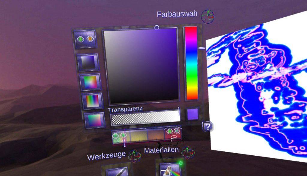 Cyber Paint für Samsung Gear VR