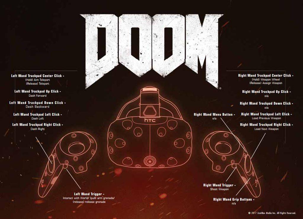 Doom VFR HTC Vive