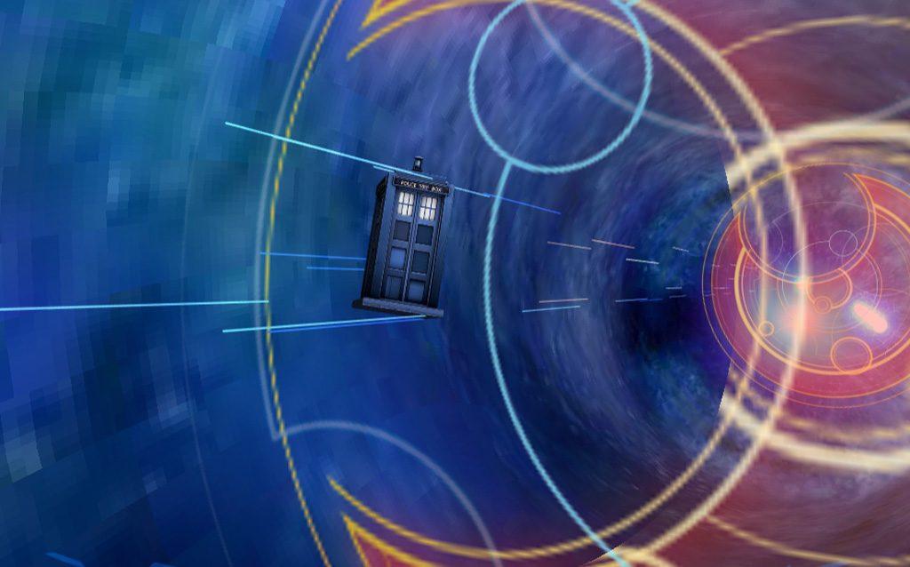 Dr. Who Tardis VR
