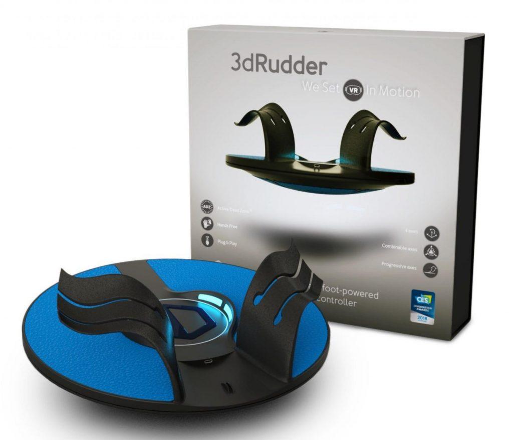 3dRudder-Blackhawk-Fußcontroller-Lokomotion-Treadmill