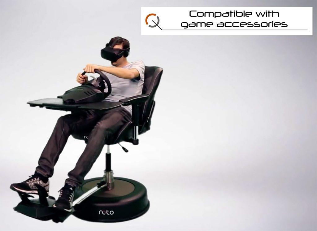 Vr Brille Für Raceroom : Roto vr interaktiver stuhl geht in produktion