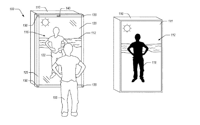 Amazon-Mixed-Reality-Spiegel-Patent