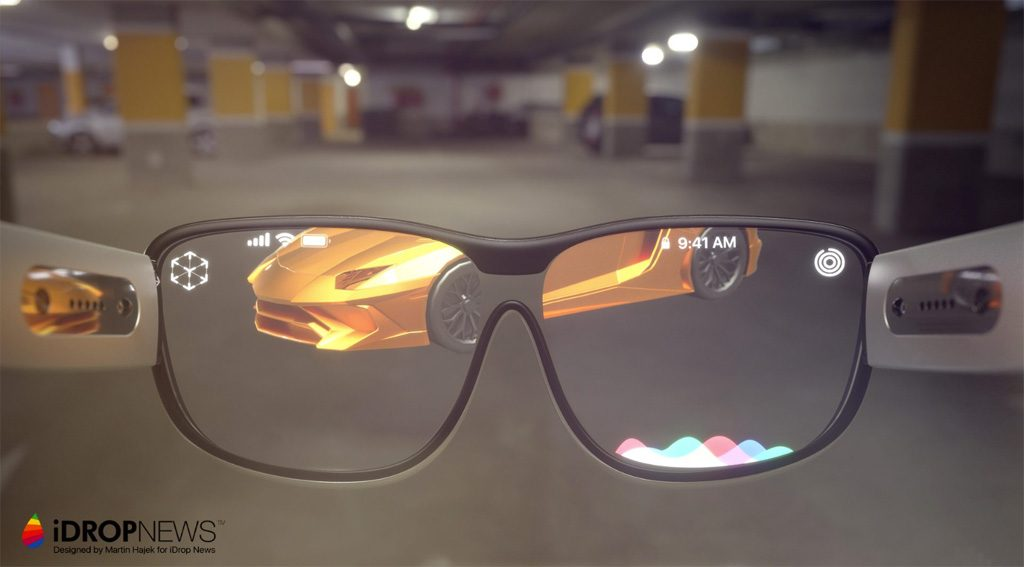 Apple AR-Brille Design
