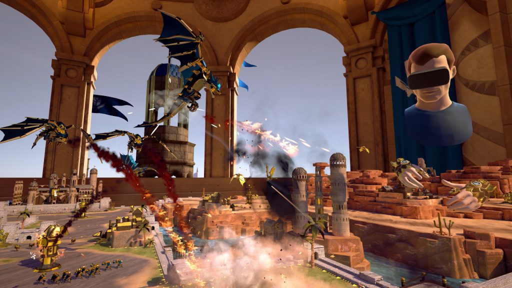 Brass Tactics: Arena Oculus Rift