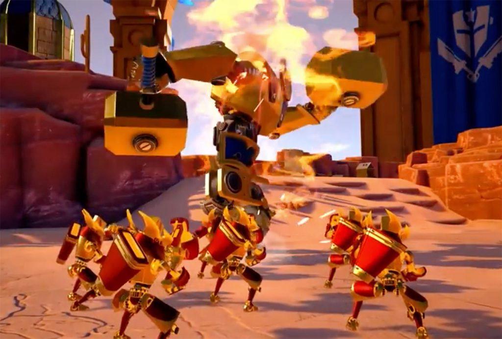 Brass Tactics Arena