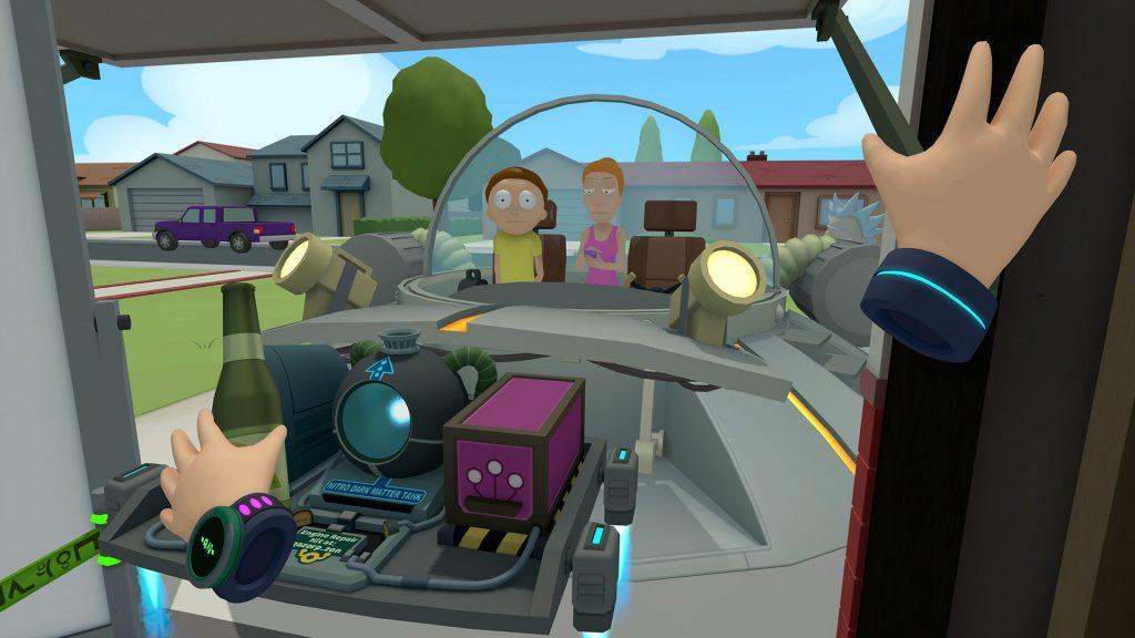 Rick and Morty PSVR