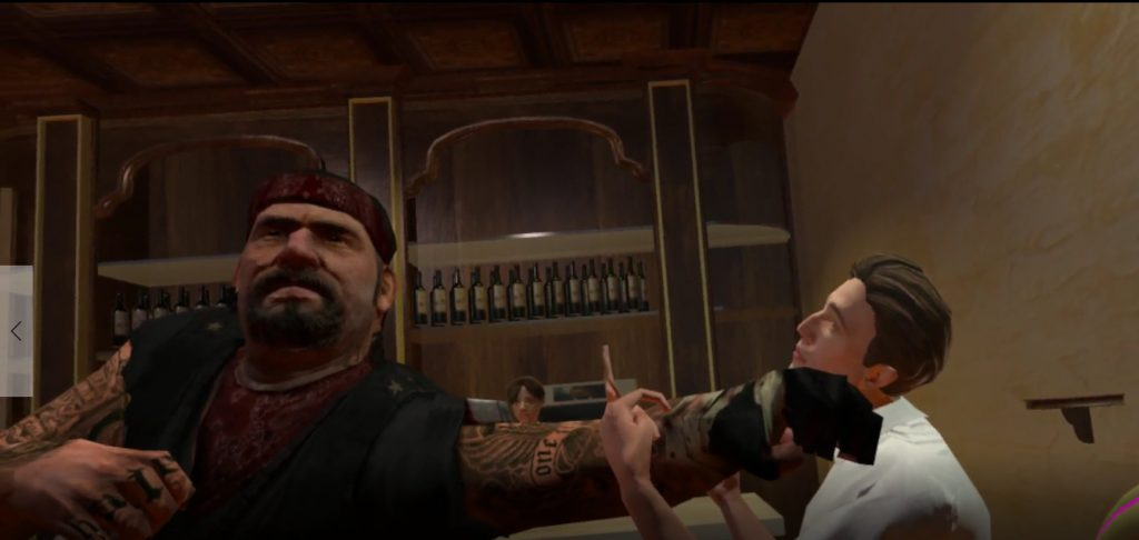 Drunkn Bar Fight PSVR