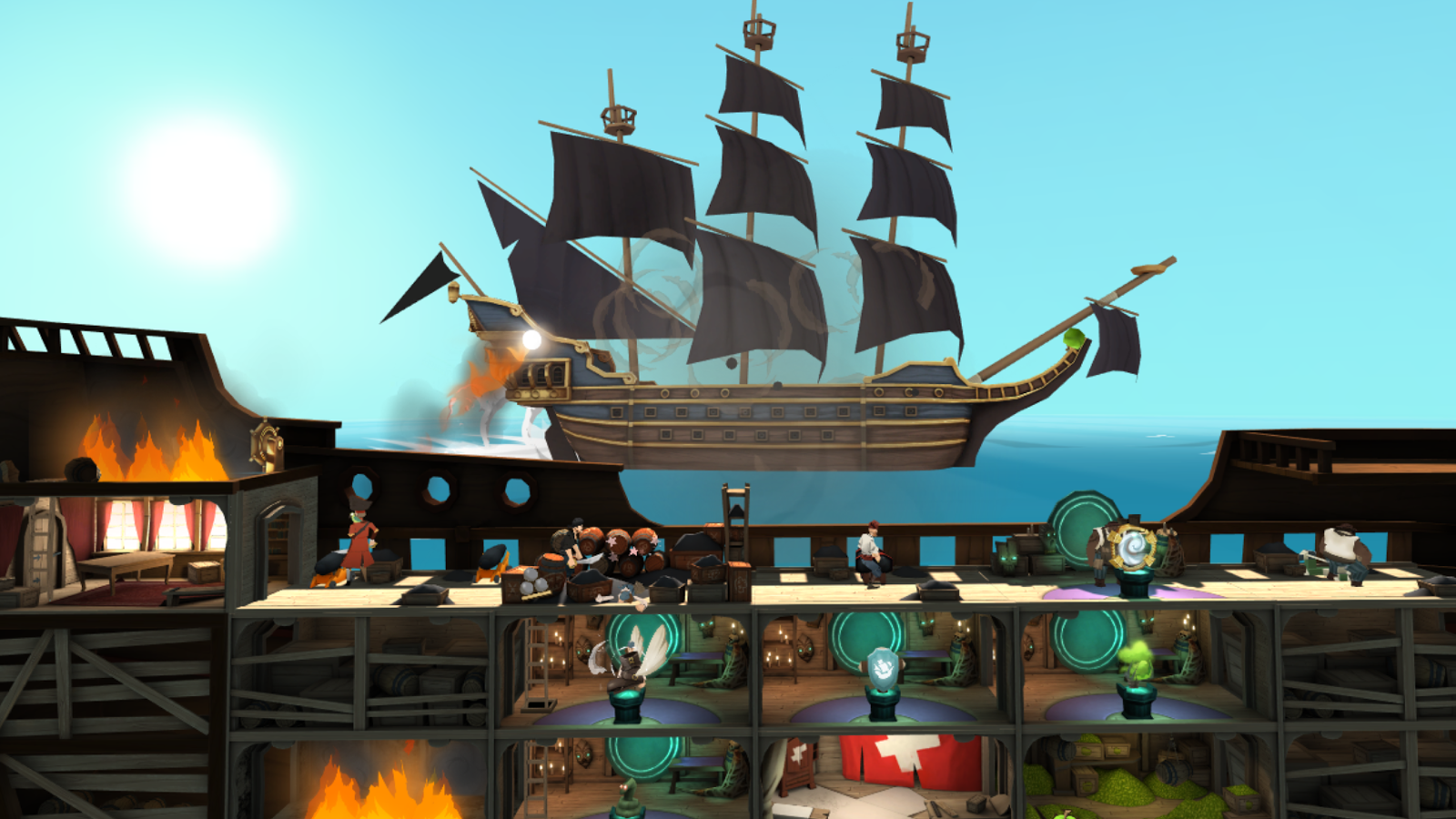 Narrows-Google-Daydream-Strategie-VR-Mobile-Pirates-Roguelike