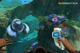 Subnautica VR Oculus Rift