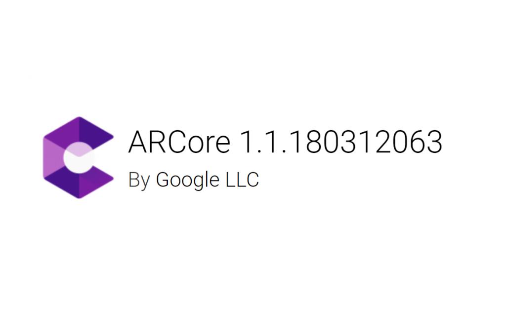 ARCore 1.1