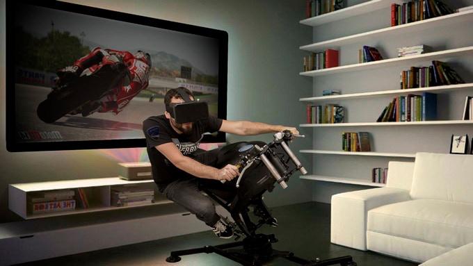 LeanGP Home Motorrad-Simulator