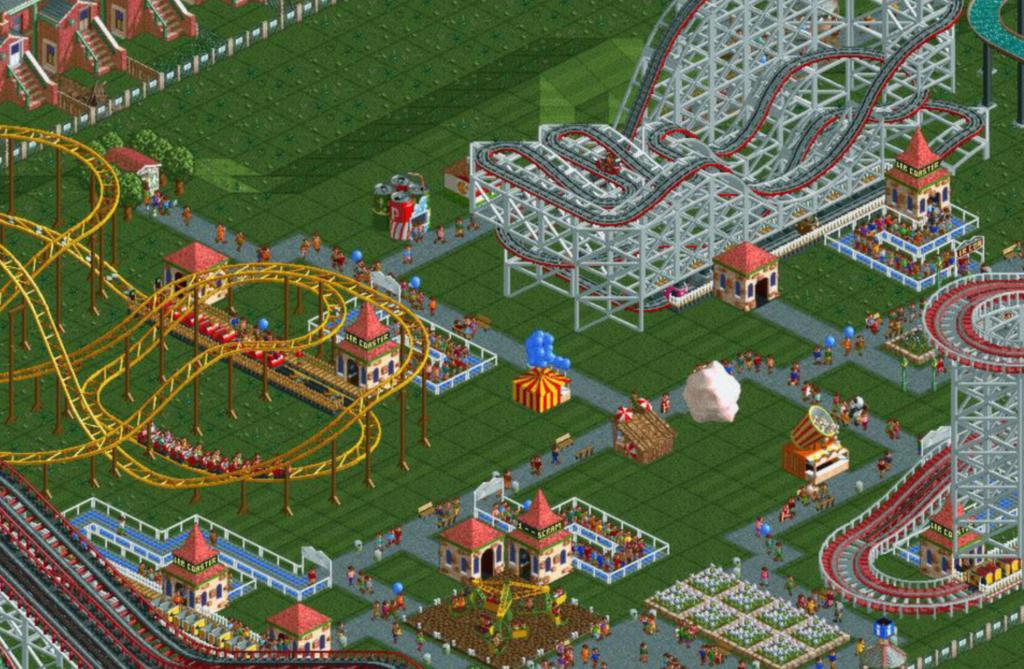 Rollercoaster Tycoon Atari