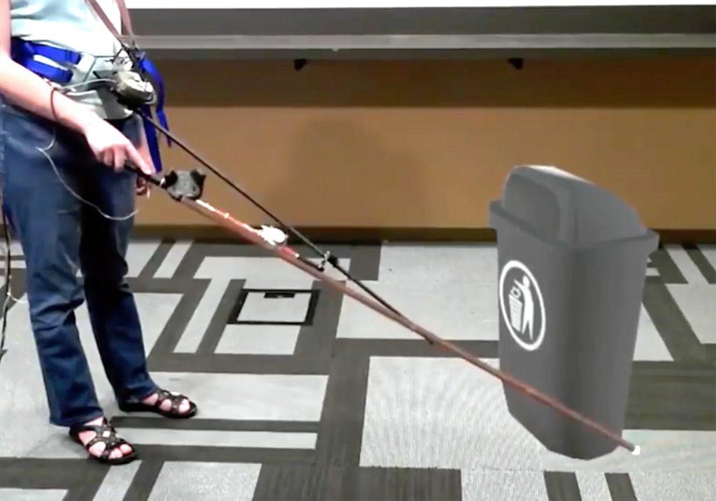 Microsoft Gehstock VR