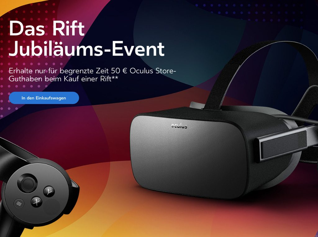 Oculus Rift Sonderangebote