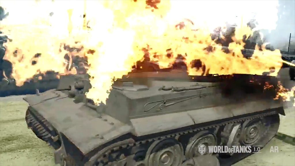 World of Tanks AR Experience iOS Android