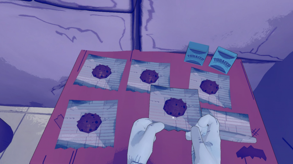 Prison Boss VR Screenshot HTC Vive Paper roll