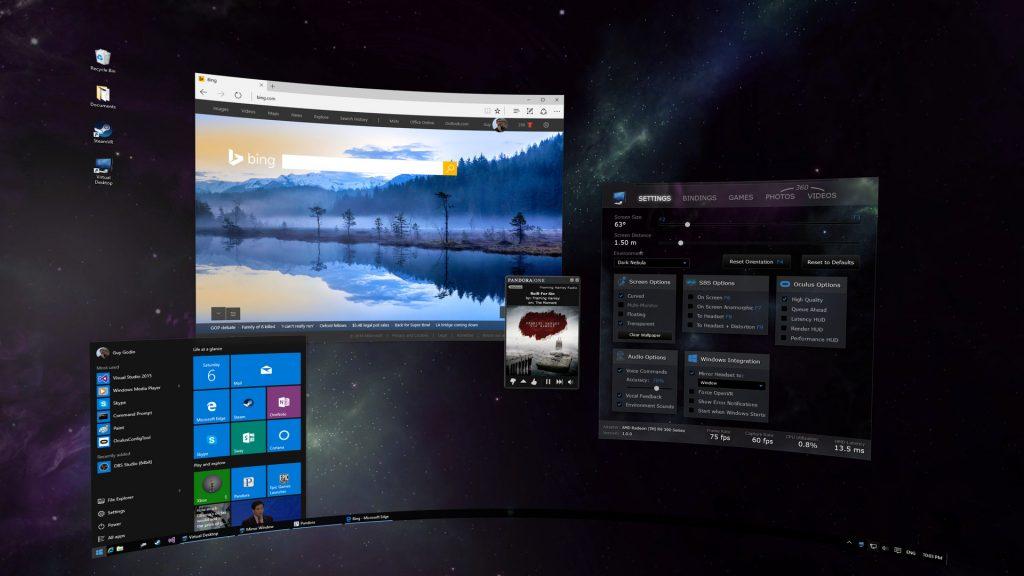 Virtual Desktop erscheint für Oculus Go