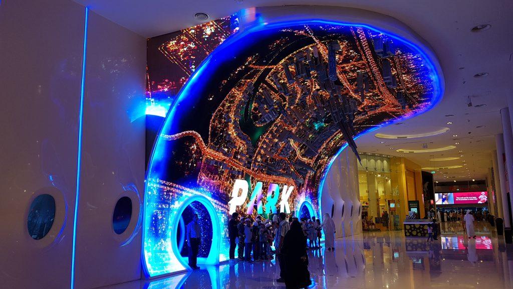 Dubai VR Park Eingang