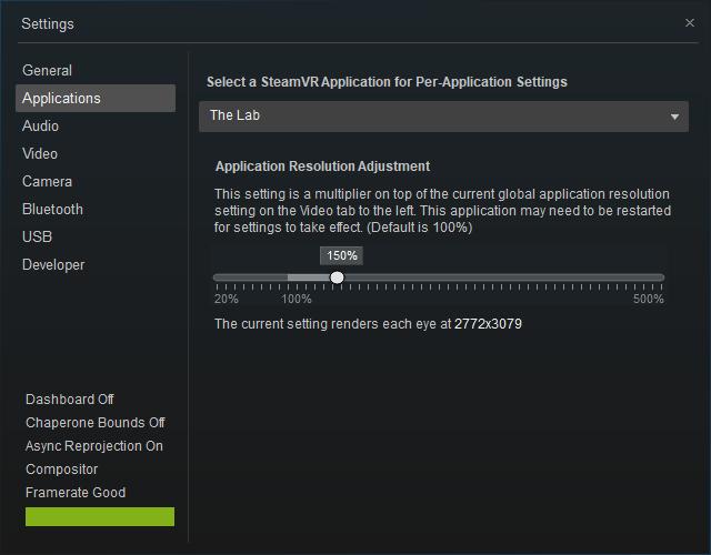 SteamVR-Per-Application