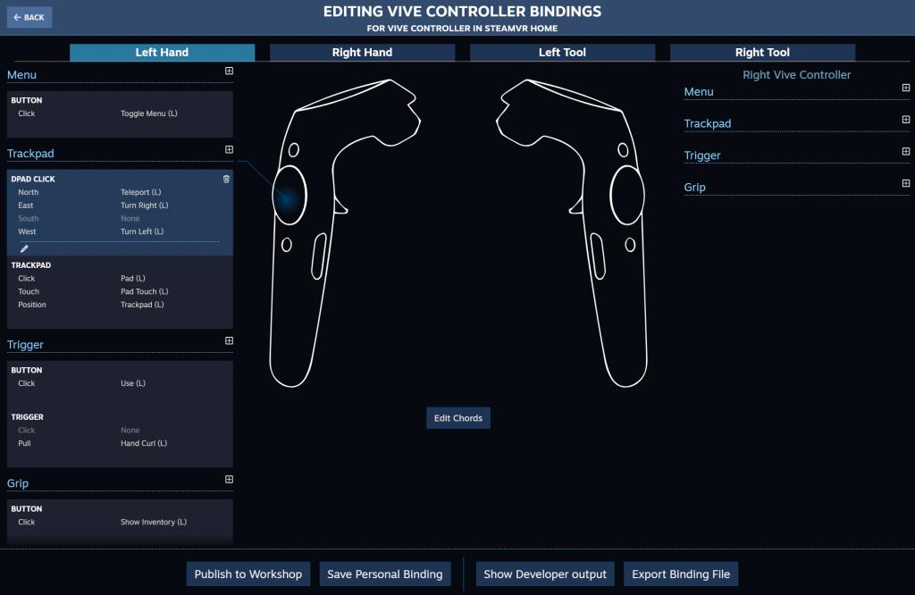 Steam,VR Controller
