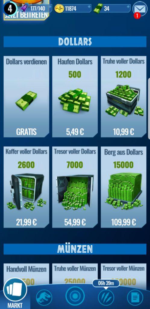 JW-Dollar