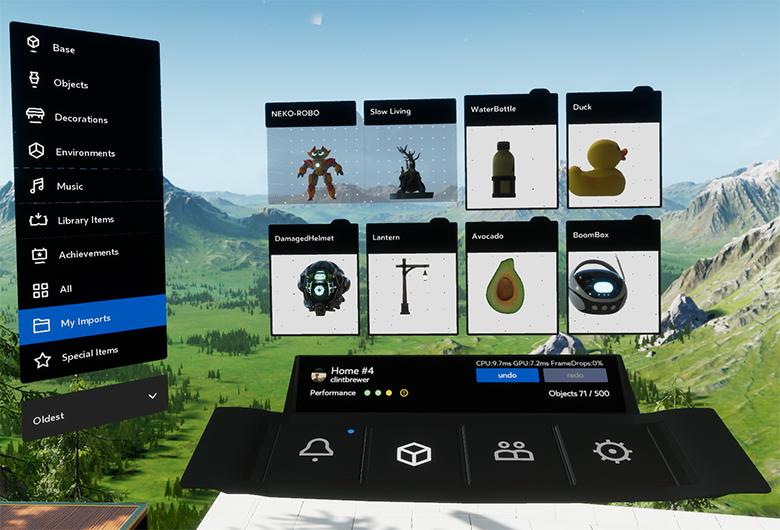 Oculus Home 1.27 Update