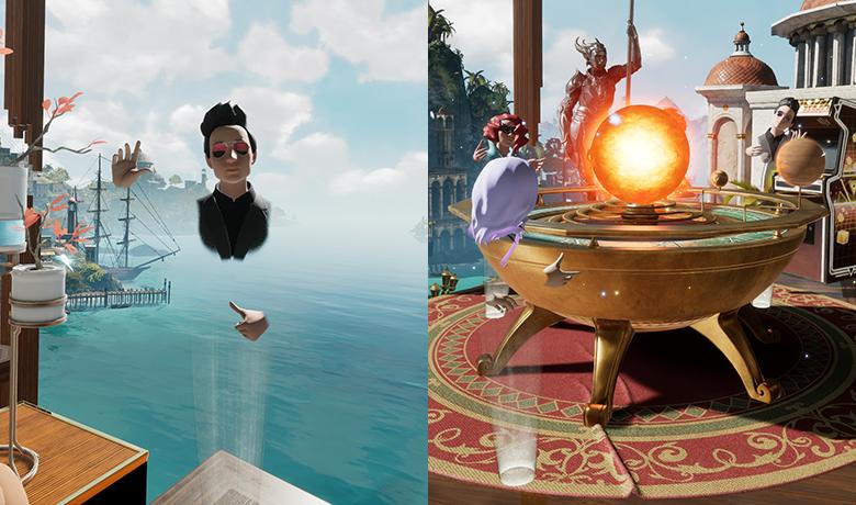 Oculus Home Multiplayer Oculus Rift