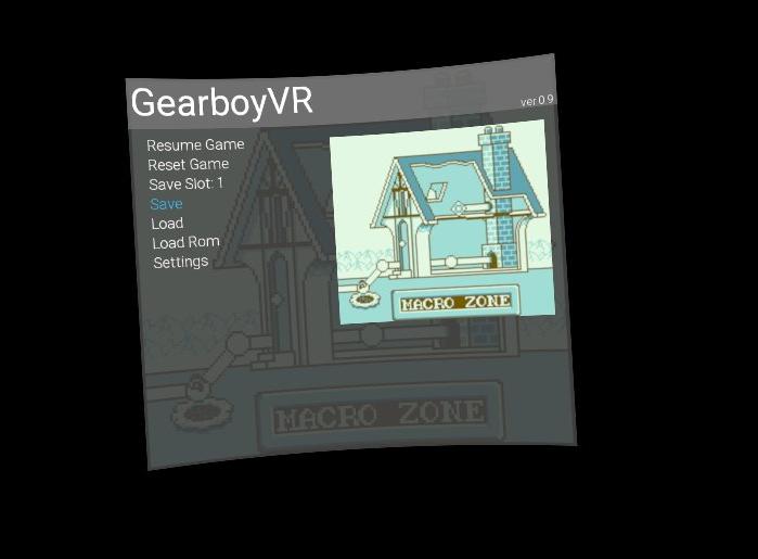 GameBoy-Emulator-Oculus-Go