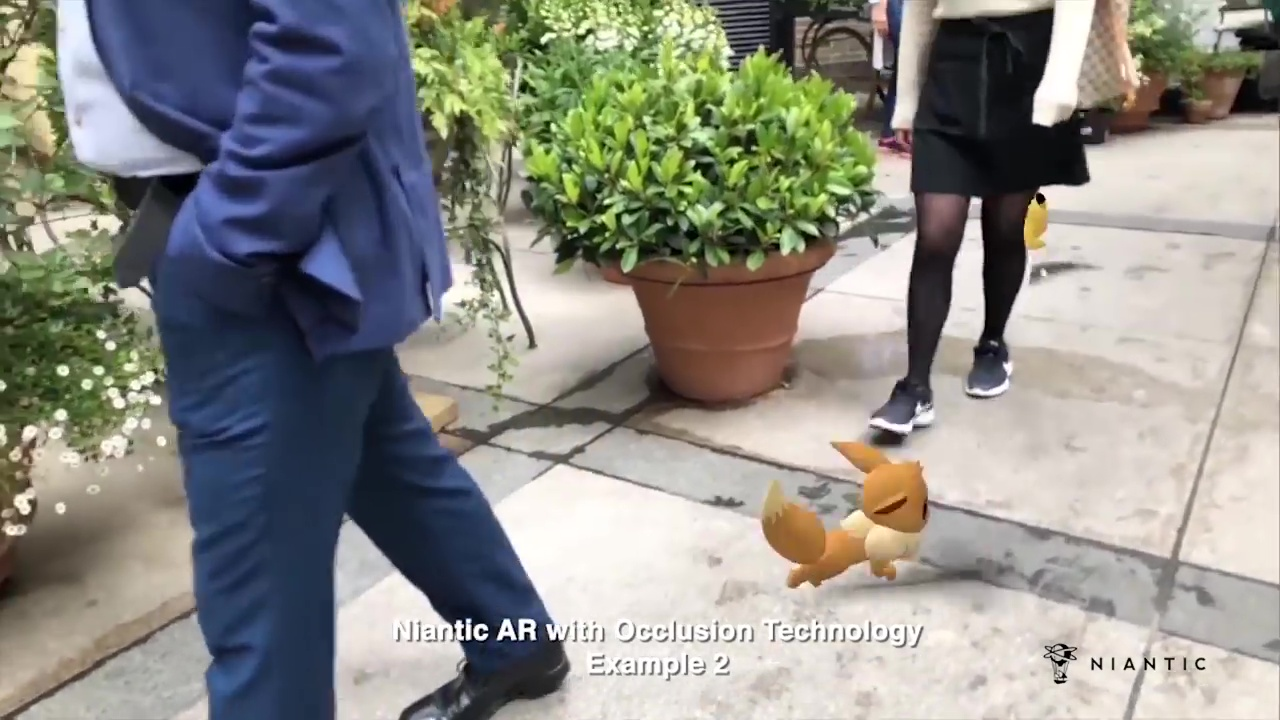 Niantic-Occlusion-Augmented-Reality-AR-Technologie