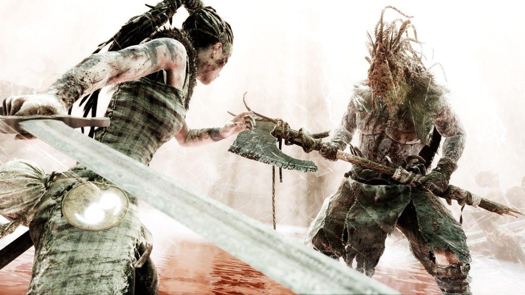 Hellblade fight
