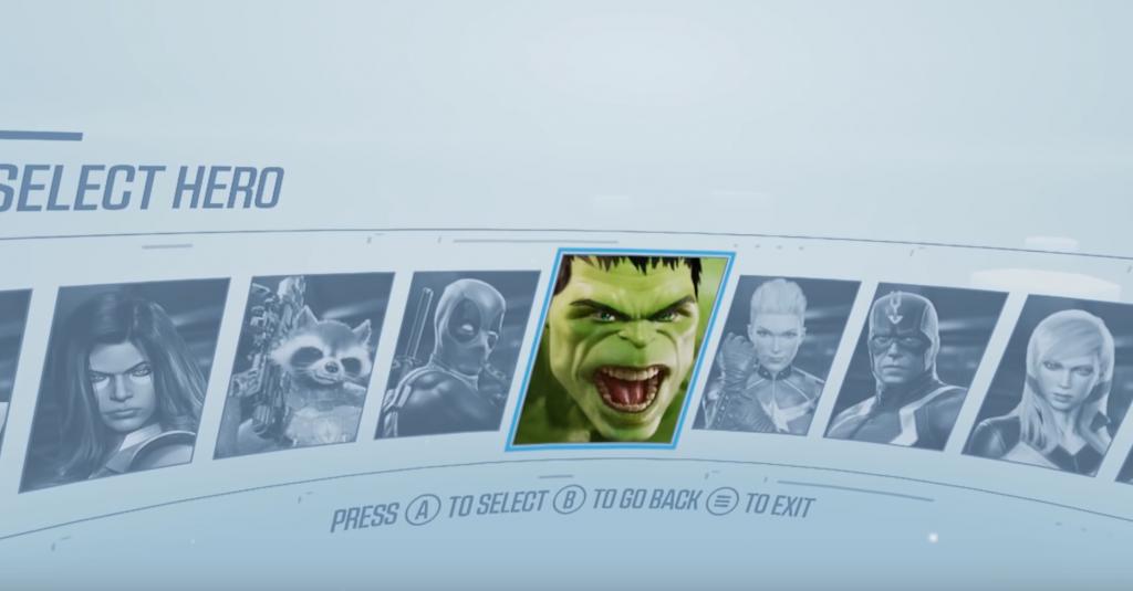 Marvel Auswahl