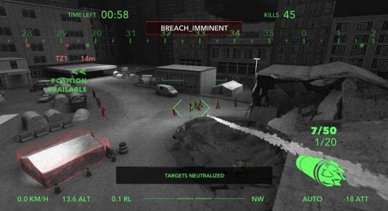 Zombie Gunship Raptor Oculus Go