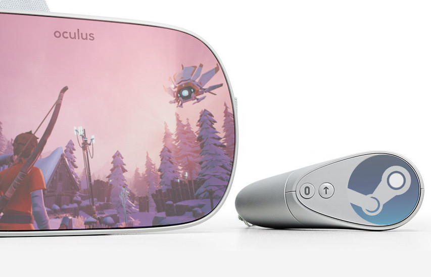 Steam Link Oculus Go