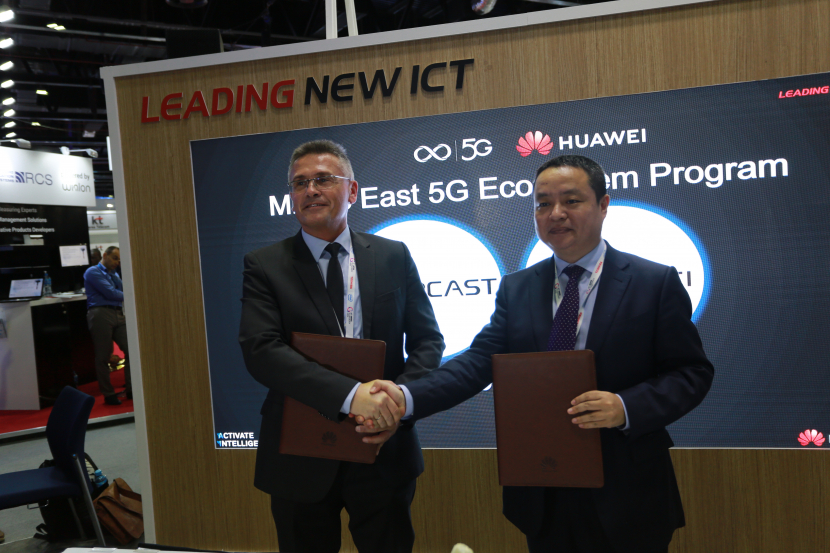 Huawei MoU-Signing-with-TPCast 20181018