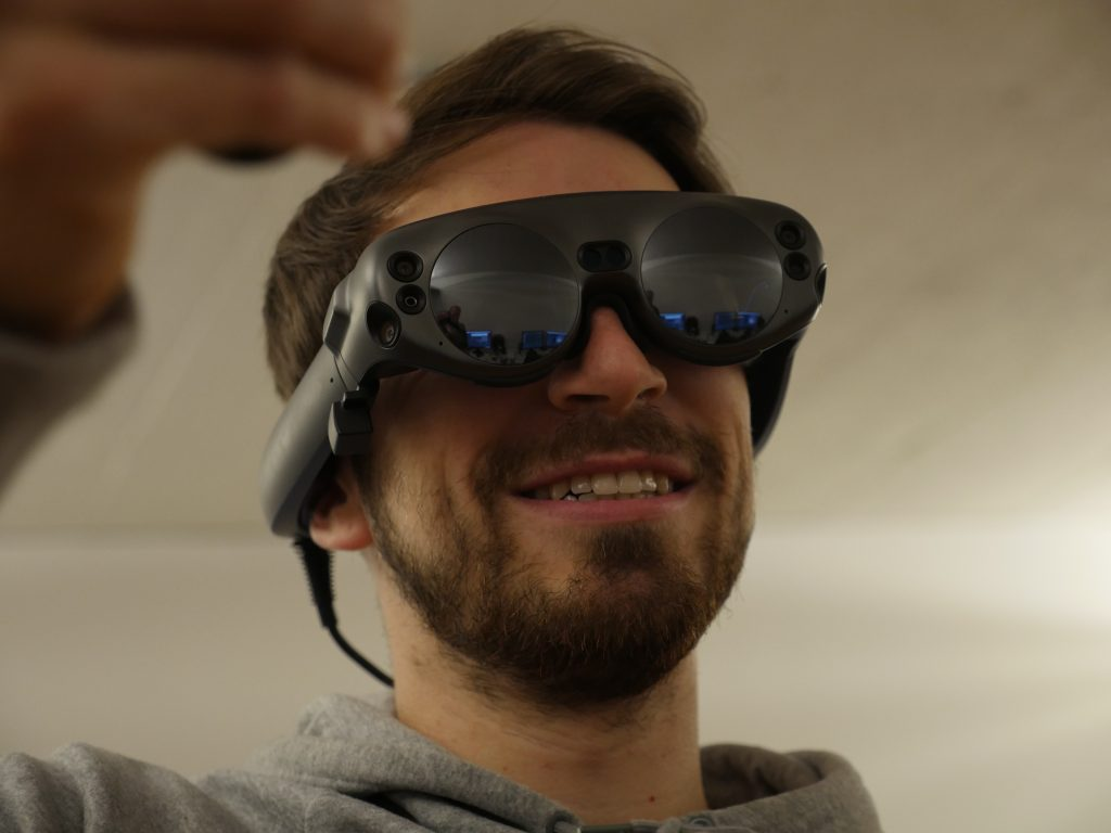 Magic Leap One Test