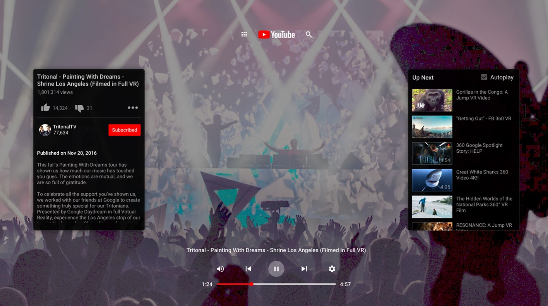 YouTube VR für Oculus Go veröffentlicht - VR∙Nerds