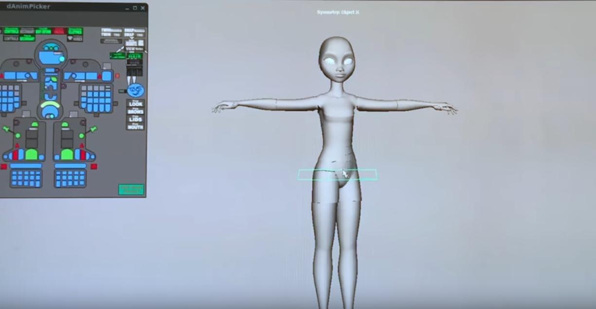 Disney-PoseVR-Animation