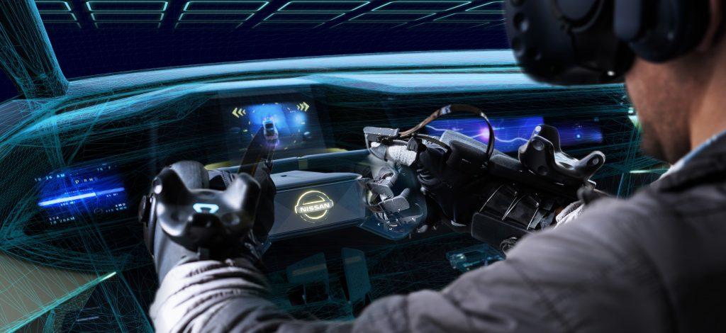 Nissan-HaptX-Auto-design-vr