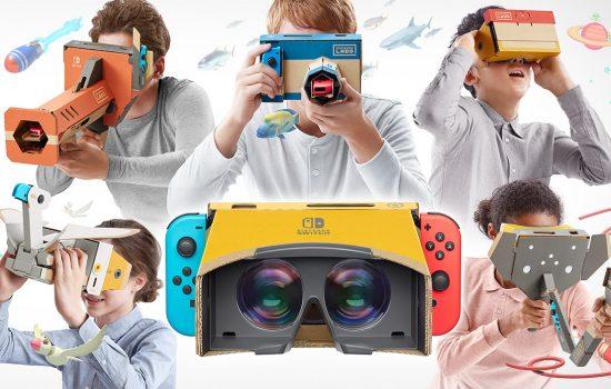 VR-Set Nintendo Labo