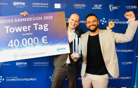 Tower Tag gewinnt den Deutschen Computerspielpreis
