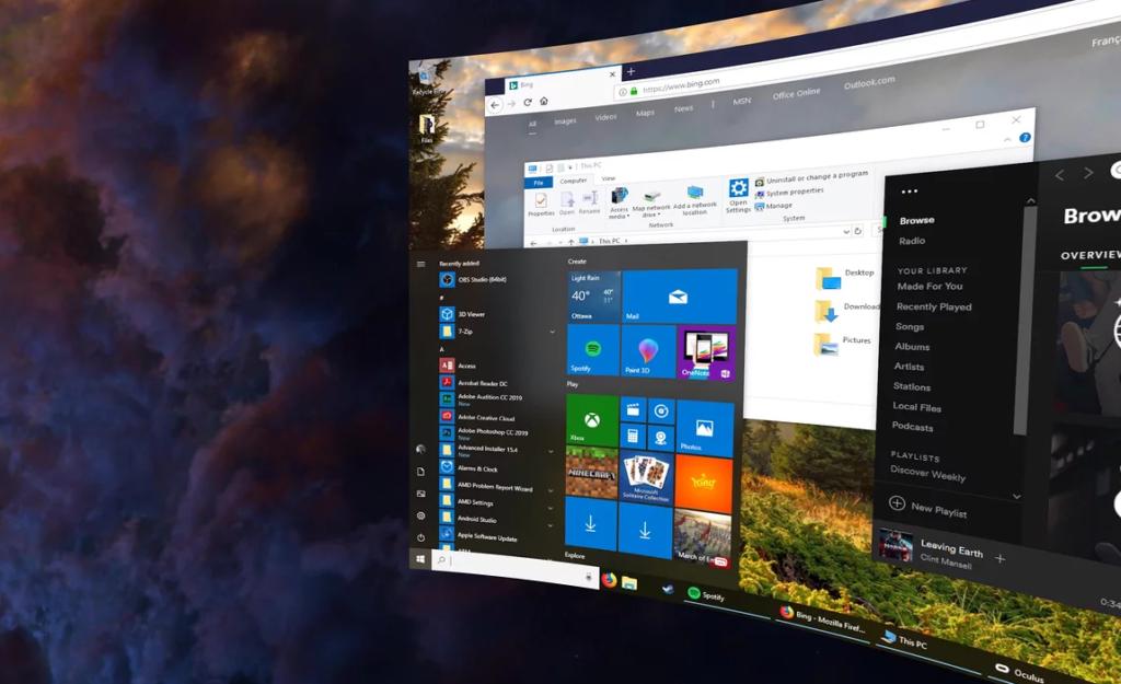 Virtual Desktop für Oculus Quest