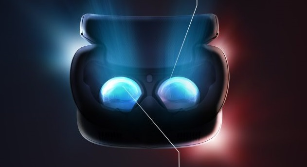 Display der HTC Vive Cosmos