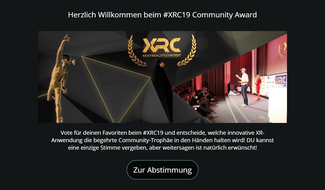 XRCCommunityaward